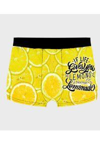 MegaKoszulki - Bokserki męskie fullprint Lemonade. Wzór: nadruk