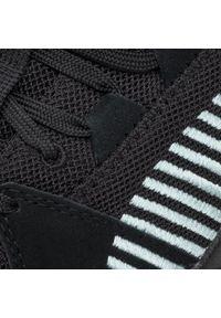 Czarne buty sportowe Puma Puma Suede, na co dzień, z cholewką