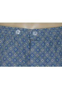 ForMax - Piżama Męska, Dwuczęściowa, Popiel, Bawełniana, Koszula Długi Rękaw, Długie Spodnie -FORMAX. Kolor: szary, srebrny, wielokolorowy. Materiał: bawełna. Długość: długie