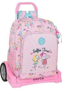 Różowy plecak wakacyjny