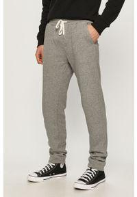 Szare spodnie dresowe Quiksilver gładkie