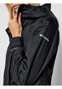 Czarna kurtka przeciwdeszczowa columbia