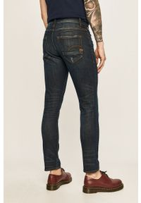Szare jeansy G-Star RAW w kolorowe wzory