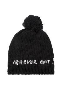 Czarna czapka zimowa Patrizia Pepe