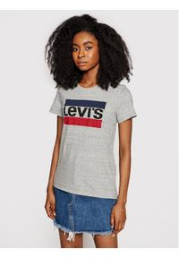 Levi's® T-Shirt The Perfect Graphic Tee 17369-0303 Szary Regular Fit. Kolor: szary