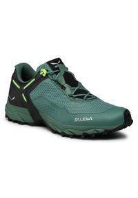 Salewa Trekkingi Ms Speed Beat Gtx GORE-TEX 61338-3856 Zielony. Kolor: zielony. Technologia: Gore-Tex. Sport: turystyka piesza