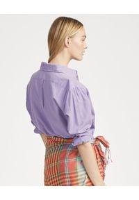 Ralph Lauren - RALPH LAUREN - Koszula Oxford. Typ kołnierza: polo. Kolor: wielokolorowy, fioletowy, różowy. Materiał: materiał, bawełna. Długość rękawa: długi rękaw. Długość: długie. Wzór: haft #2