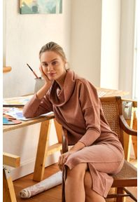 Greenpoint - Spódnica dzianinowa z dodatkiem włókien ekologicznych. Materiał: włókno, dzianina