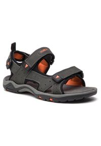 Sandały CMP - Almaak Hiking Sandal 38Q9947 Grey U862. Kolor: szary. Materiał: skóra, nubuk, materiał. Sezon: lato. Sport: turystyka piesza