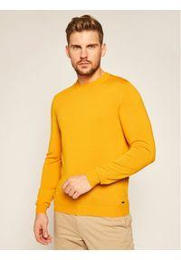 Żółty sweter klasyczny Roy Robson