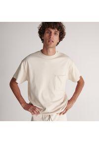 Reserved - Piżama dwuczęściowa - Kremowy. Kolor: kremowy
