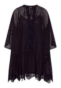 Czarna sukienka Pinko casualowa, na co dzień, prosta
