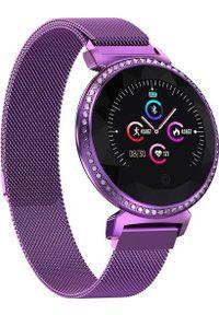 Fioletowy zegarek GepardWatches smartwatch