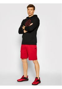 4f - 4F Bluza H4L21-BLM015 Czarny Regular Fit. Kolor: czarny