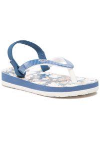Roxy - Sandały ROXY - AROL100004 NVW. Kolor: niebieski. Materiał: skóra, materiał