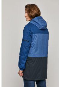 Niebieska kurtka medicine casualowa, na co dzień, z kapturem