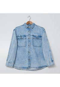 House - Jeansowa koszula - Niebieski. Kolor: niebieski. Materiał: jeans