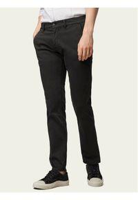 BOSS - Boss Chinosy Schino 50379152 Czarny Slim Fit. Kolor: czarny. Materiał: materiał