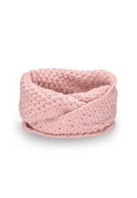 Różowy szalik PaMaMi