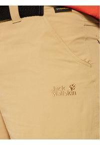 Beżowe spodenki sportowe Jack Wolfskin #5