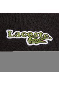 Czarna czapka zimowa Lacoste