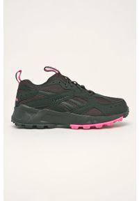 Szare buty sportowe Reebok Classic na obcasie, na sznurówki, Reebok Classic