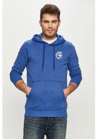 Tom Tailor - Bluza bawełniana. Okazja: na co dzień. Kolor: niebieski. Materiał: bawełna. Styl: casual #1