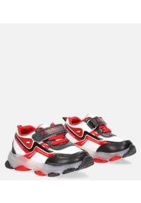 Casu - białe buty sportowe casu 20x3/m. Kolor: biały