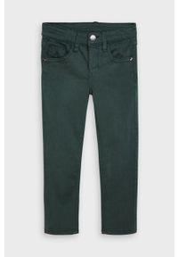 Zielone jeansy Mayoral