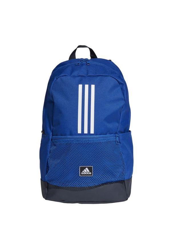 Plecak Adidas w paski, sportowy