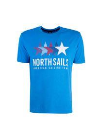 North Sails T-shirt. Okazja: na co dzień. Materiał: tkanina. Wzór: nadruk. Styl: casual