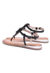 Czarne sandały Gioseppo