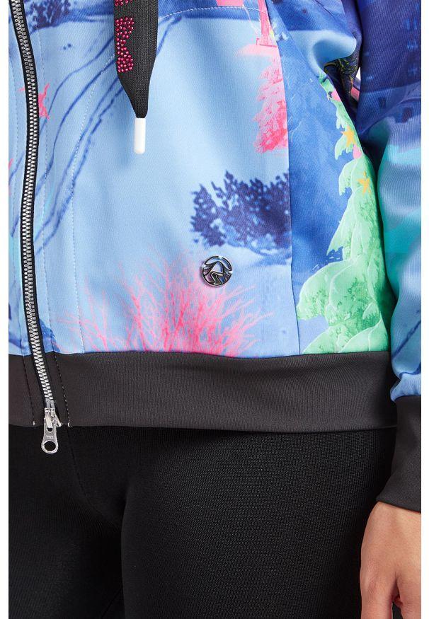 Bluza Sportalm sportowa, w kolorowe wzory
