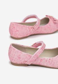 Born2be - Różowe Baleriny Asteorelia. Kolor: różowy