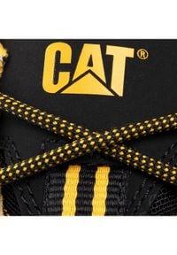 CATerpillar Sneakersy Intruder P723901 Czarny. Kolor: czarny