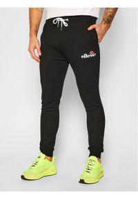 Ellesse Spodnie dresowe Nioro SHS08783 Czarny Classic Fit. Kolor: czarny. Materiał: dresówka