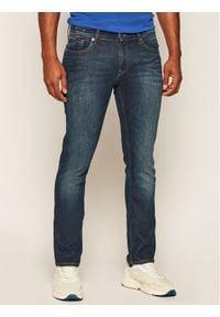 Tommy Jeans Jeansy Slim Fit DM0DM04373 Granatowy Slim Fit. Kolor: niebieski