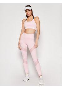 Guess Legginsy O1GA16 MC03W Różowy Slim Fit. Kolor: różowy