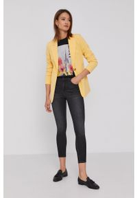 Cross Jeans - Jeansy Judy. Stan: podwyższony. Kolor: szary