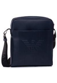 Niebieska torba na ramię Emporio Armani