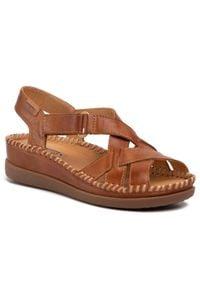 Brązowe sandały Pikolinos casualowe, na co dzień