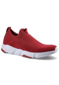 Big-Star - Sneakersy BIG STAR DD274463 Czerwony. Zapięcie: bez zapięcia. Kolor: czerwony. Materiał: materiał, prążkowany. Szerokość cholewki: normalna. Styl: sportowy, elegancki