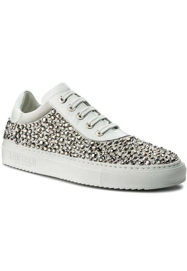 Białe buty sportowe Loriblu
