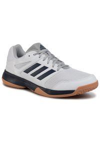 Białe buty treningowe Adidas z cholewką