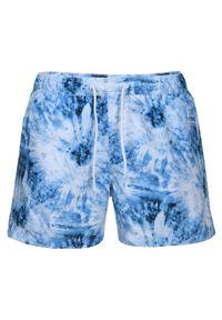 TOP SECRET - Szorty kąpielowe. Kolor: niebieski. Materiał: materiał. Sezon: lato. Styl: wakacyjny, klasyczny
