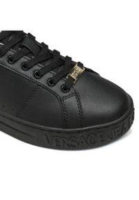 Versace Jeans Couture Sneakersy E0YWASK3 Czarny. Kolor: czarny