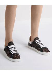 Casadei - CASADEI - Czarne sneakersy z plecionką Kicks Versilia. Kolor: czarny. Materiał: guma. Obcas: na płaskiej podeszwie