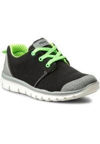 Primigi - Sneakersy PRIMIGI - 1372711 S Grig. Kolor: czarny. Materiał: materiał. Szerokość cholewki: normalna