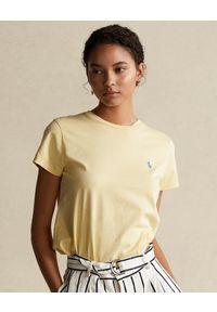 Żółty t-shirt Ralph Lauren polo