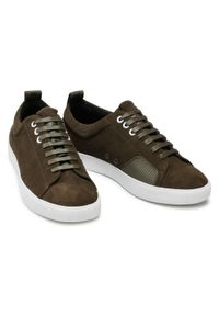 Hugo Sneakersy Zero 50433502 10214592 01 Zielony. Kolor: zielony